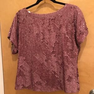 Alice and Olivia SPARKLE top